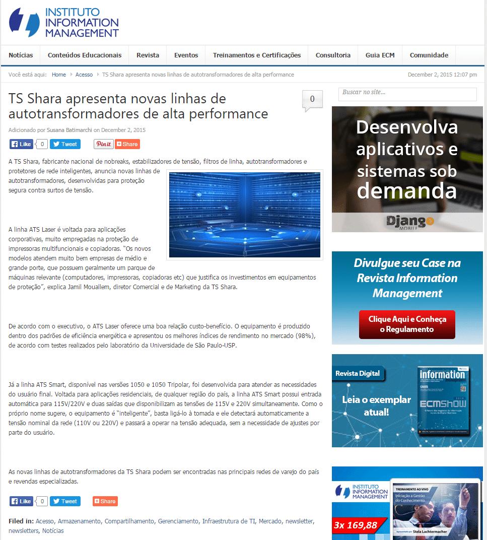 Portal Information Management - 02/12/2015