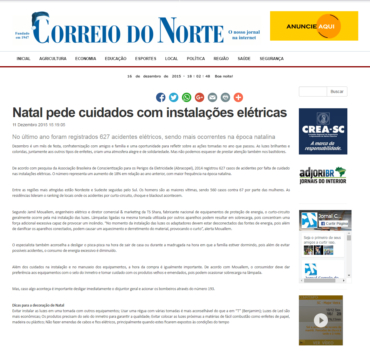 Correio do Norte - 11/12/2015