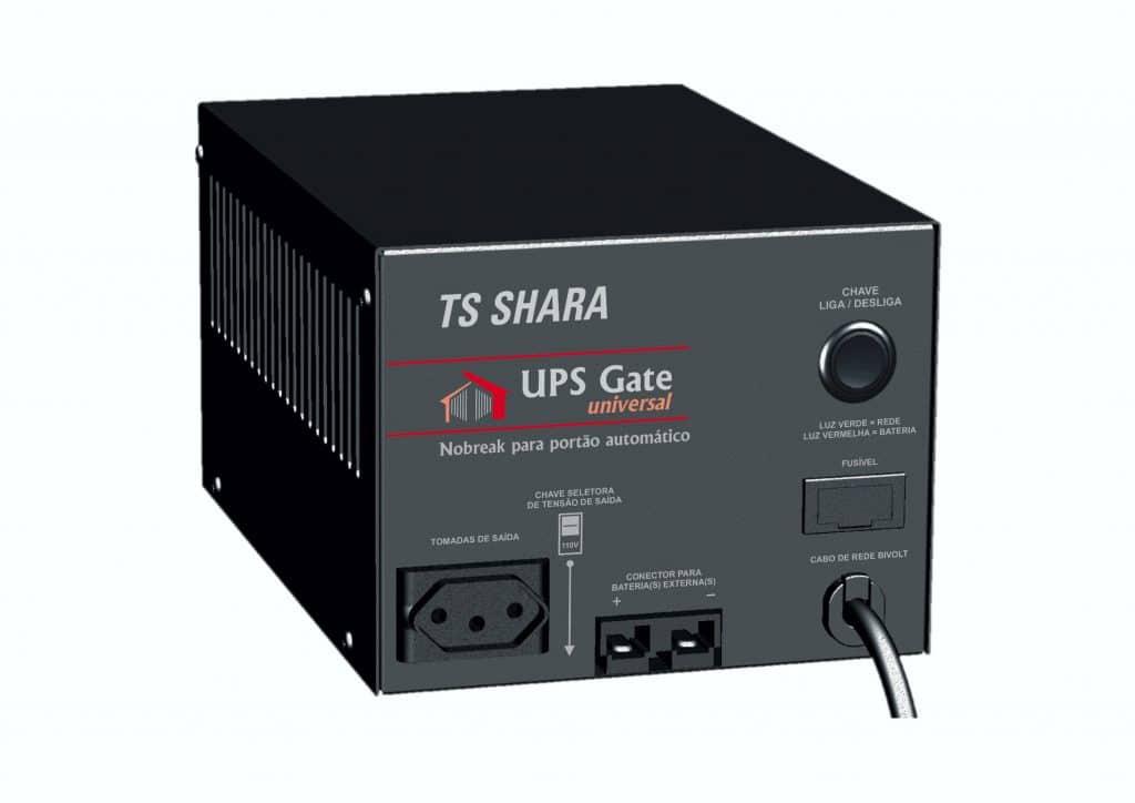 Nobreak TS Shara UPS Gate Universal e UPS Gate+ Universal foram desenvolvidos para atender qualquer demanda em automação de portões automáticos.