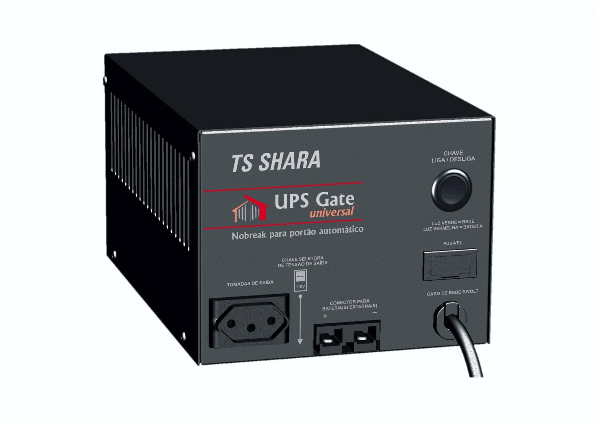 Os Nobreaks da linha UPS Gate Universal e UPS Gate+ Universal foram desenvolvidos para atender qualquer demanda em automação de portões automáticos.