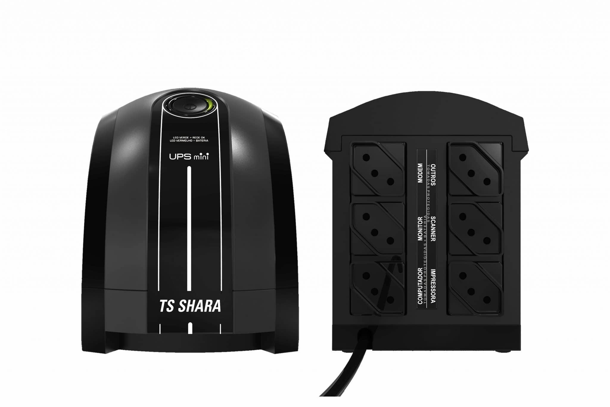 Nobreak UPS Mini microprocessado da TS SHARA é a melhor relação custo benefício do mercado, pois renune tecnologia e preço competitivo.